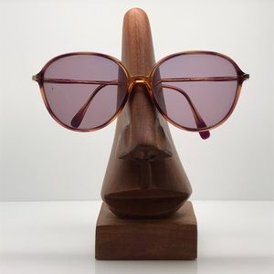 Vintage Silhouette Oval Tortoise Sunglasses Frames